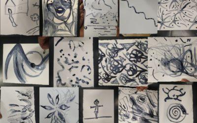 Arte, transformación y migración en la sesión de ayer del taller Faire Racines